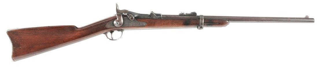 (A) CUSTER 7TH CAVALRY RANGE SPRINGFIELD MODEL 1873