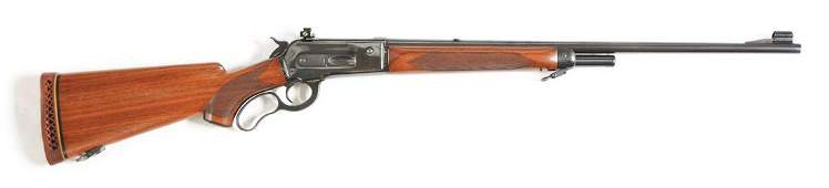 (C) WINCHESTER MODEL 71 DELUXE LEVER ACTION RIFLE