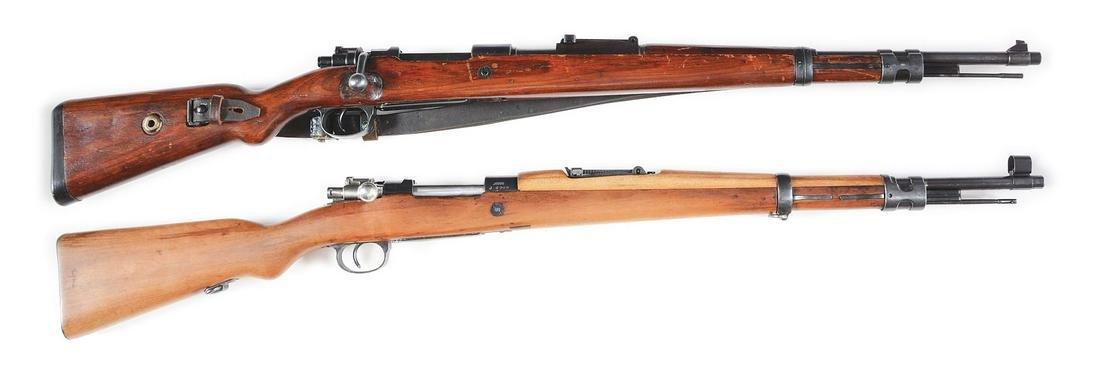 (C) LOT OF 2: BERLIN-LUBECKER 98K & YUGOSLAVIAN M24/47