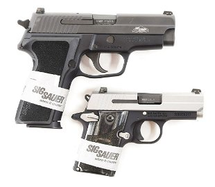 For Auction: (M) LOT OF TWO: WALTHER PPS SEMI AUTOMATIC