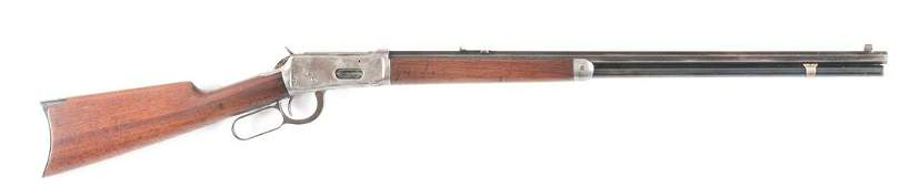 (C) WINCHESTER MODEL 1894 LEVER ACTION RIFLE (1907).