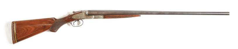 (C) L.C. SMITH IDEAL GRADE SIDE BY SIDE SHOTGUN IN 12