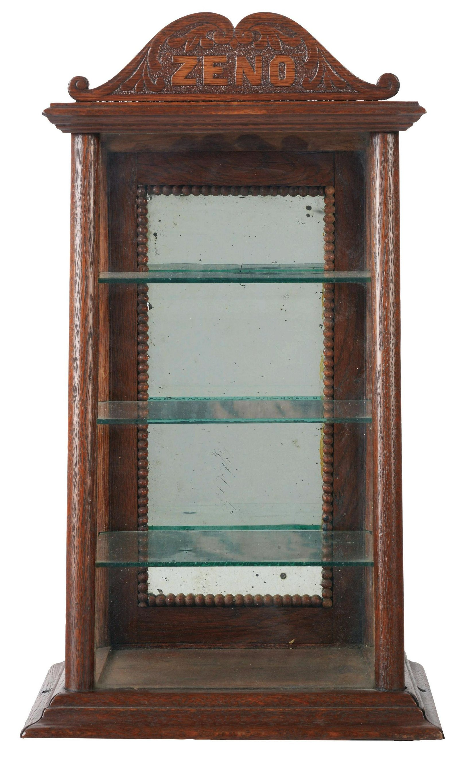 Circa 1900 - 1910 Zeno Gum Display Case.