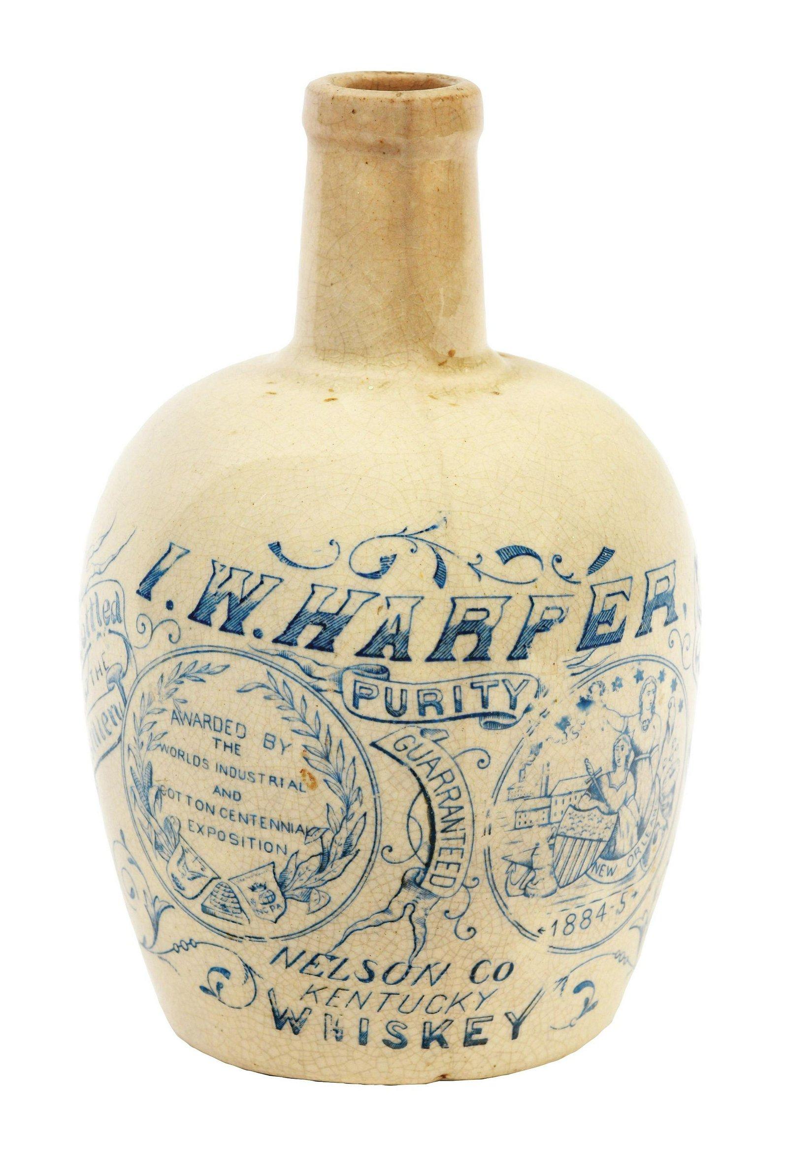 I. W. Harper Nelson Co. Kentucky Whiskey Jug.