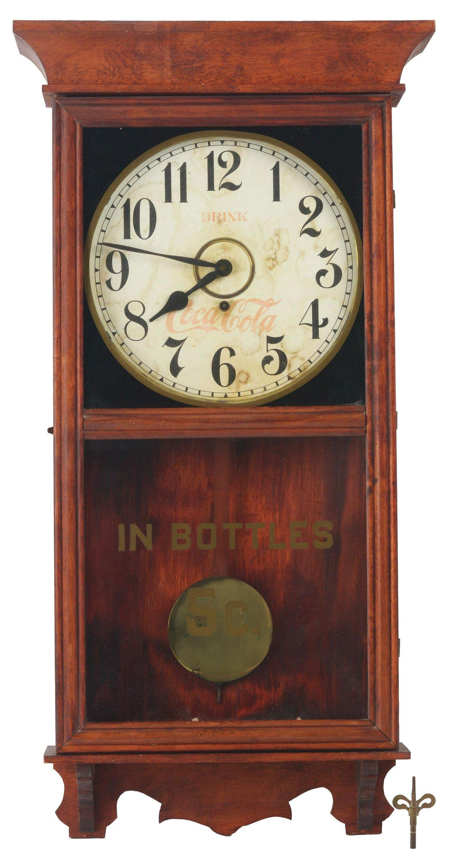 Early Coke Regulator Clock.