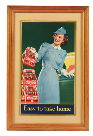1942 Coca-Cola Dogwood Girl Poster  - Apr 14, 2019 | Dan
