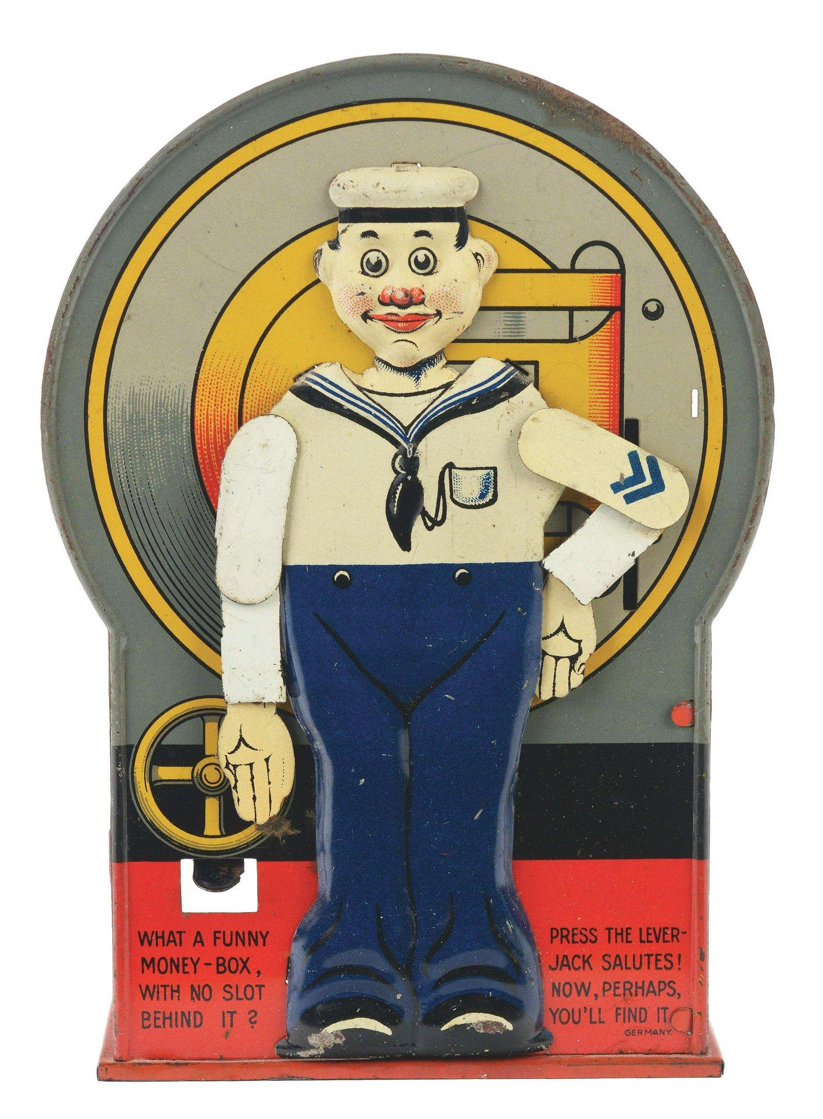 German Tin Sailor Bank.