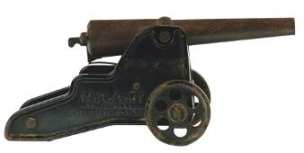 Winchester Repeating  Arms Co Large Cast Iron Cannon