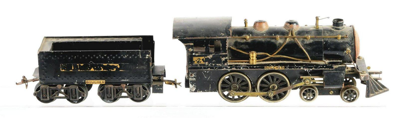 Boucher Train Locomotive & Tender.