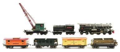 Lionel 400-E Set with 5 Freight Cars.