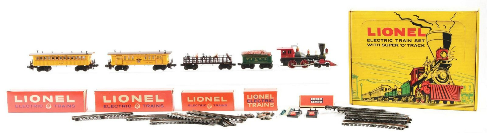 Lionel Train 2528WS Boxed General Set.