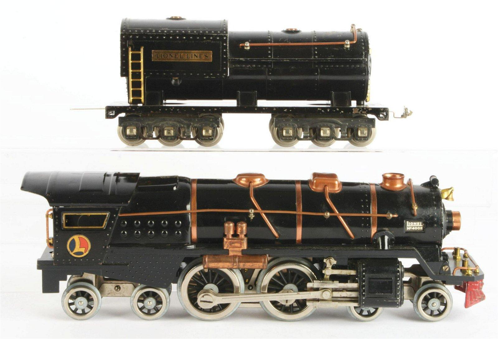 Lionel 400E.