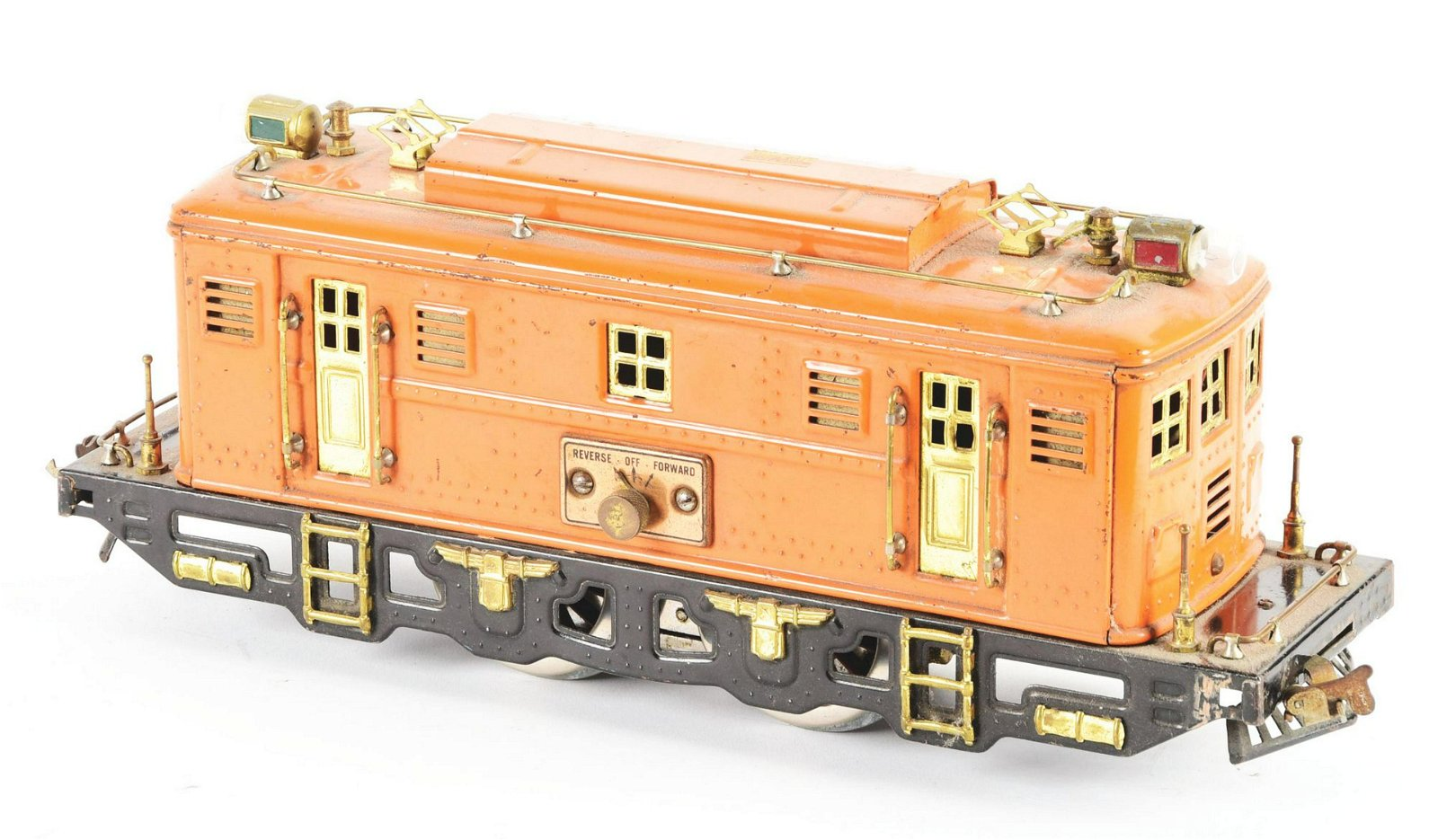 Lionel Orange 9-U Locomotive.