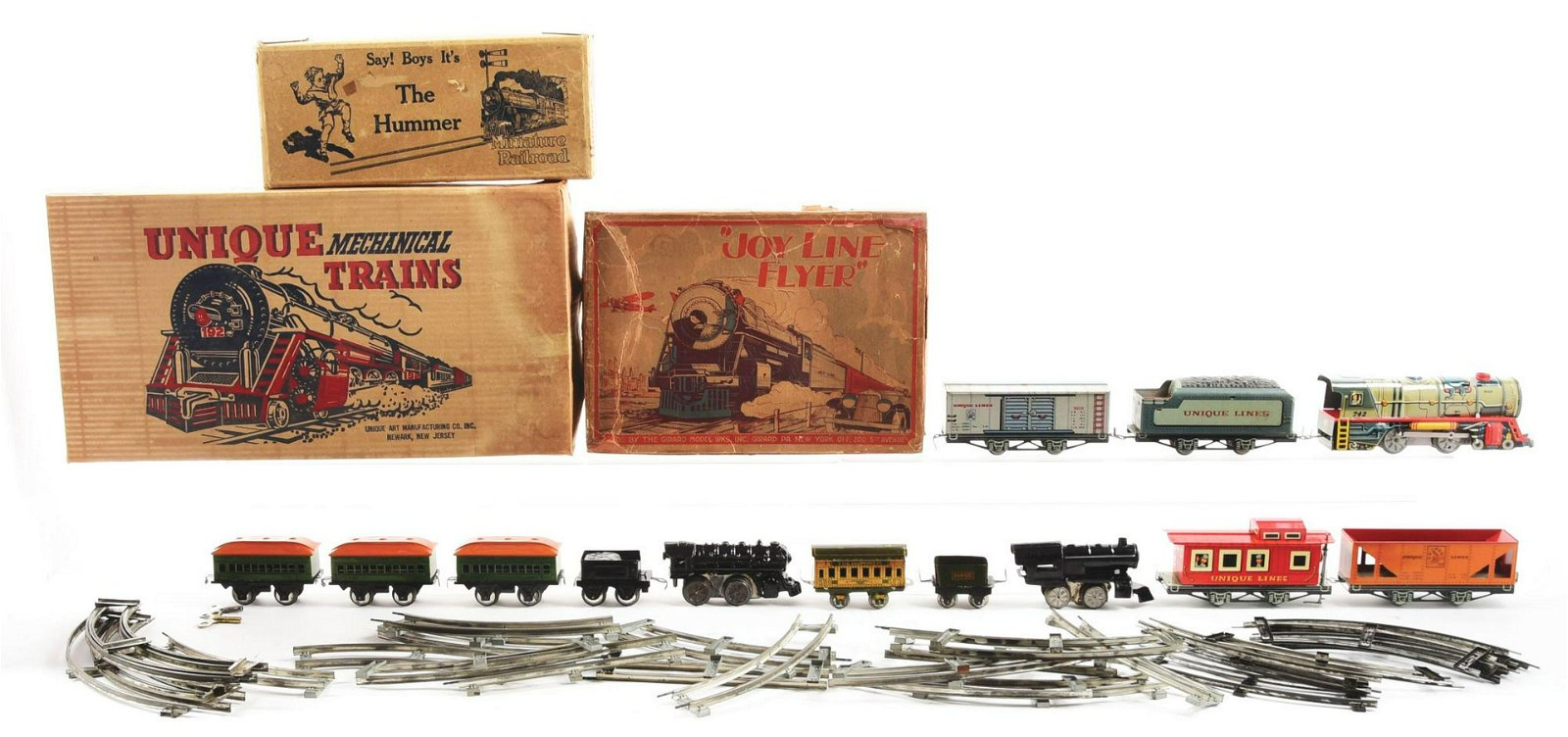 Lot of 3: Boxed Train Sets.