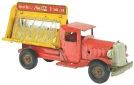 Pressed Steel Metalcraft Coca-Cola Delivery Truck.