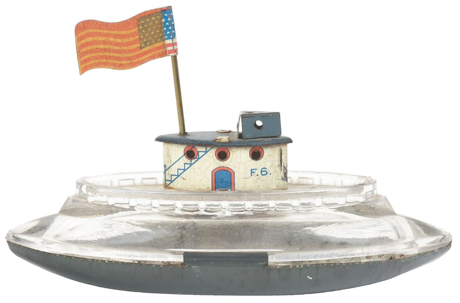 Submarine Boat Candy Container.