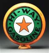 Hi Way Gasoline Complete 15 Globe On Original Metal