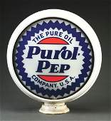 Purol Pep Gasoline Complete 15 Globe On Original
