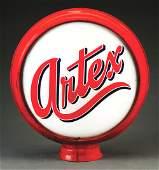 Artex Gasoline Complete 15 Globe On Original Metal