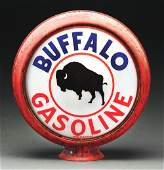 Rare Buffalo Gasoline Complete 15 Globe On Original