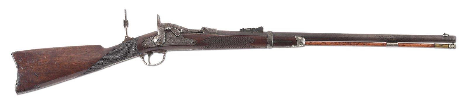 (A) RARE SPRINGFIELD TRAPDOOR MODEL 1875 OFFICER'S