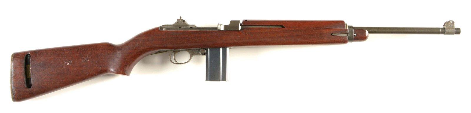 (C) WINCHESTER MODEL 1943 M1 CARBINE SEMI-AUTOMATIC
