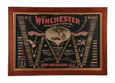 BEAUTIFUL 19TH CENTURY WINCHESTER CARTRIDGE DISPLAY