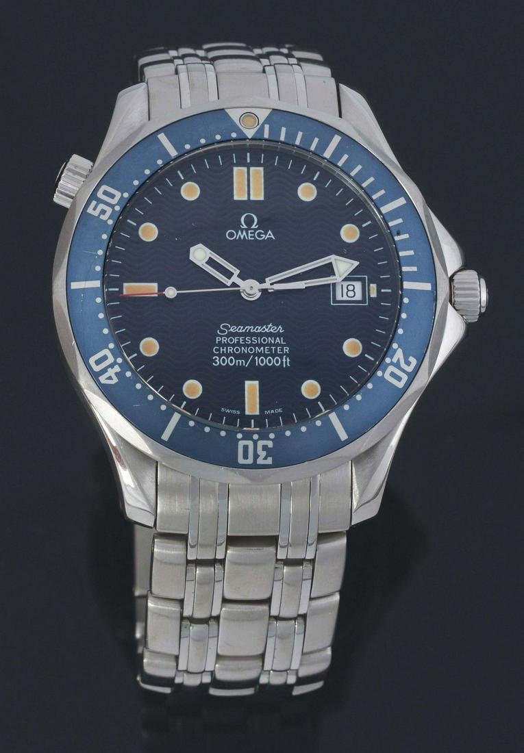 MEN'S OMEGA SEAMASTER AUTOMATIC CHRONOMETER WRIST