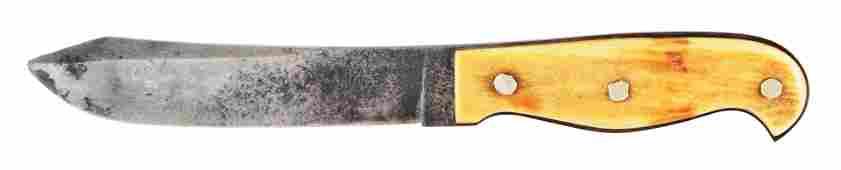 MICHAEL PRICE CALIFORNIA HUNTER KNIFE.