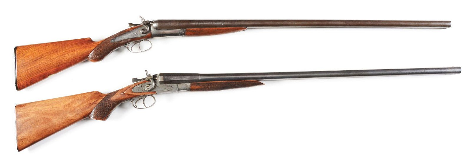 (A) LOT OF TWO: J. MANTON & CO AND BARKER DOUBLE BARREL