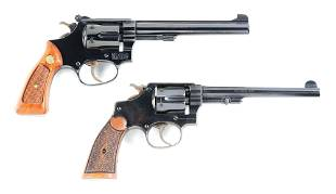 C LOT OF 2MODEL 351 AND 32 HE THIRD ISSUE SMITH