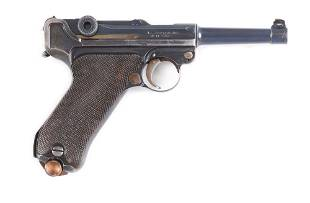 C 1920 DWM AMERICAN EAGLE STOEGER LUGER WITH HOLSTER
