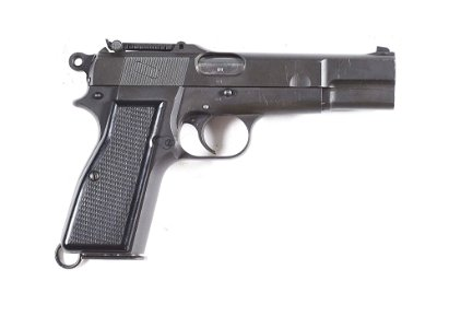(C) IMPORTANT SERIAL NUMBER D1 INGLIS HIGH POWER PISTOL