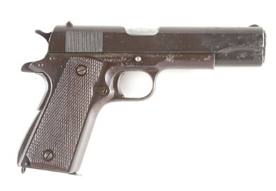 (C) SAIPAN PROVENANCE US COLT MODEL 1911-A1 SEMI