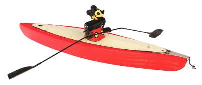 EXTREMELY RARE EARLY WALT DISNEY MICKEY MOUSE PADDLE