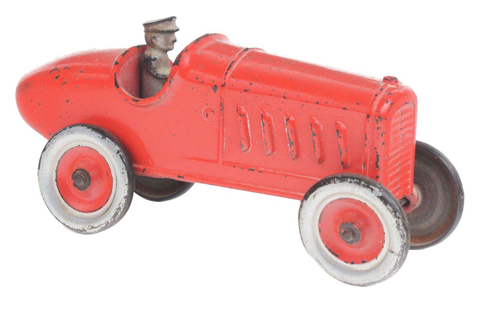 EARLY KENTON CAST IRON RACE CAR.