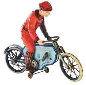 GERMAN LEHMANN TINLITHO WINDUP ECHO MOTORCYCLE