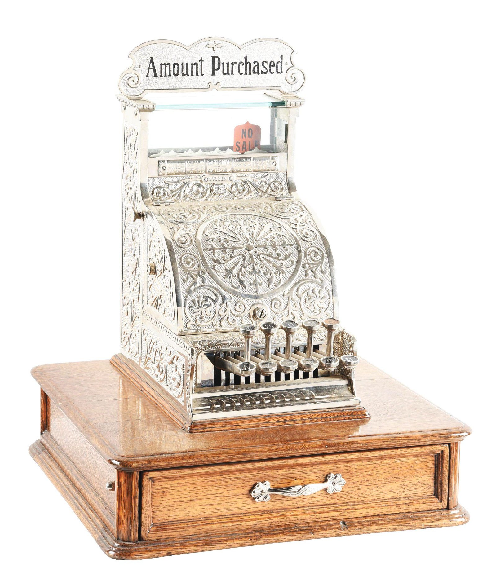 NATIONAL CASH REGISTER CO. MODEL #6.