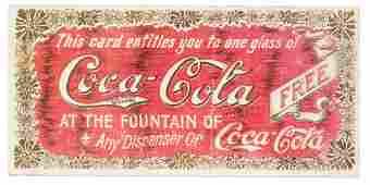 1901 HILDA CLARK COCACOLA COUPON