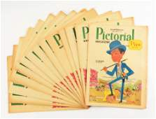 LOT OF PICTORAL MAGAZINES.