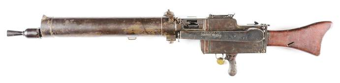 (N) VERY FINE ORIGINAL GERMAN WORLD WAR I MG 08/15