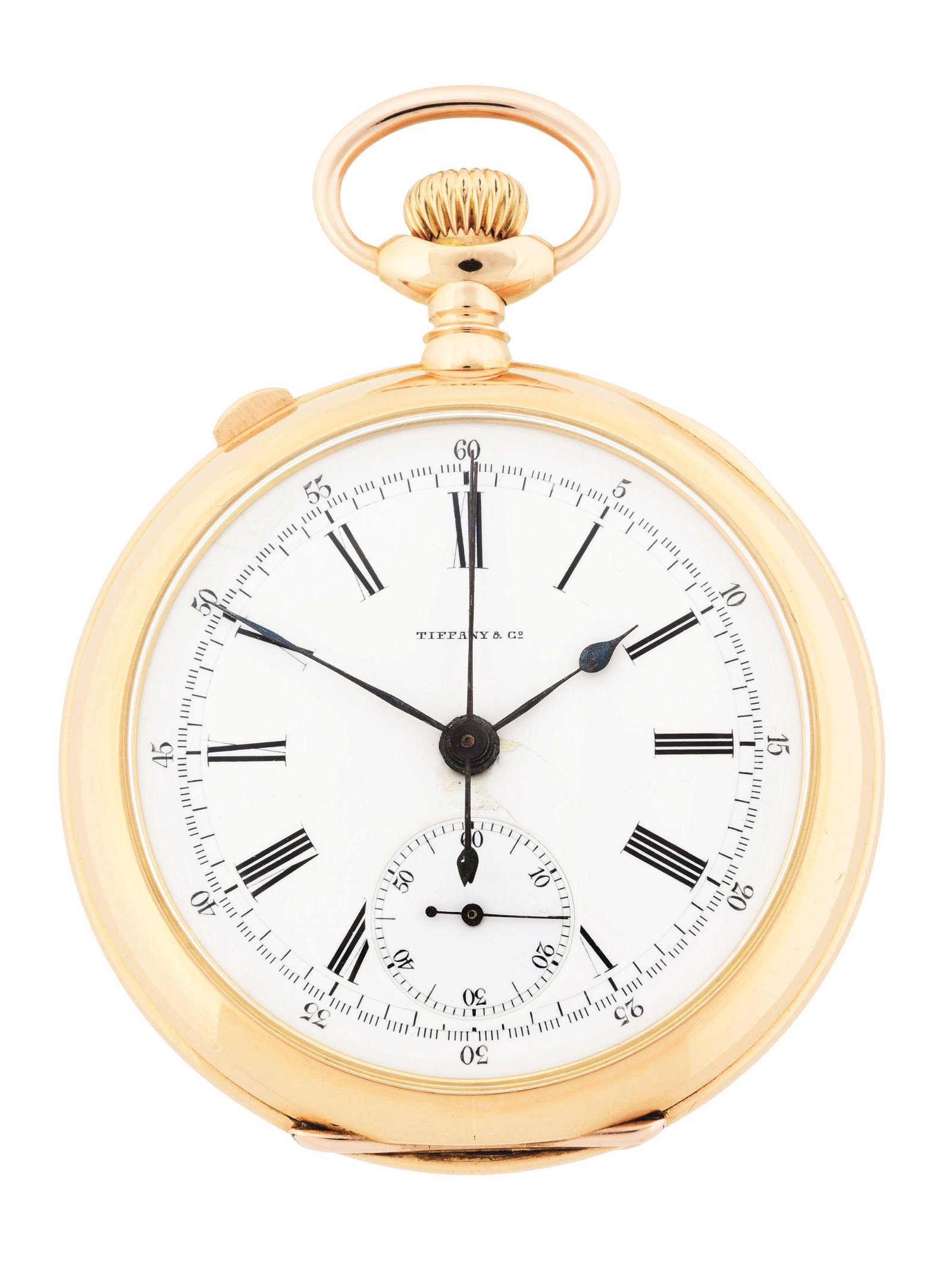 18K PINK GOLD PATEK PHILIPPE (ATTR.) FOR TIFFANY & CO,