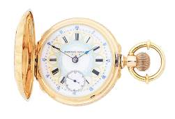FANCY 14K GOLD ELGIN BW RAYMOND MULTICOLOR HEAVY HC