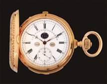 18K PINK GOLD M LECOULTRE GRAND COMPLICATION MINUTE