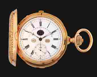 18K PINK GOLD M. LECOULTRE GRAND COMPLICATION MINUTE