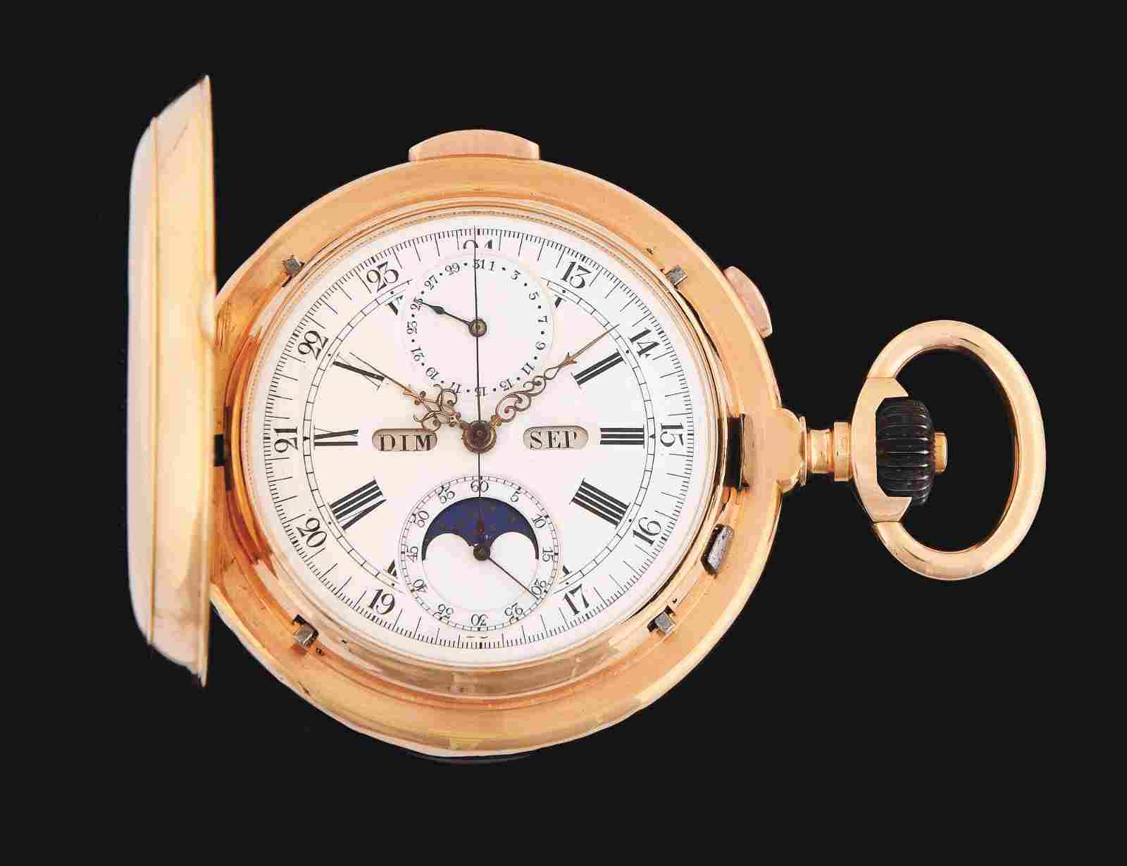18K PINK GOLD LE PHARE GRAND COMPLICATIONS MINUTE