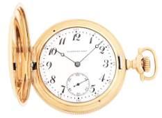14K GOLD LAMBERT BROS PRIVATE LABEL HAMILTON 975 HC