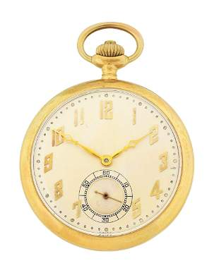 14K WITTNAUER & CO SWISS MINUTE REPEATING O/F POCKET