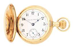 14K GOLD HAMILTON 935 HC POCKET WATCH CIRCA 1898