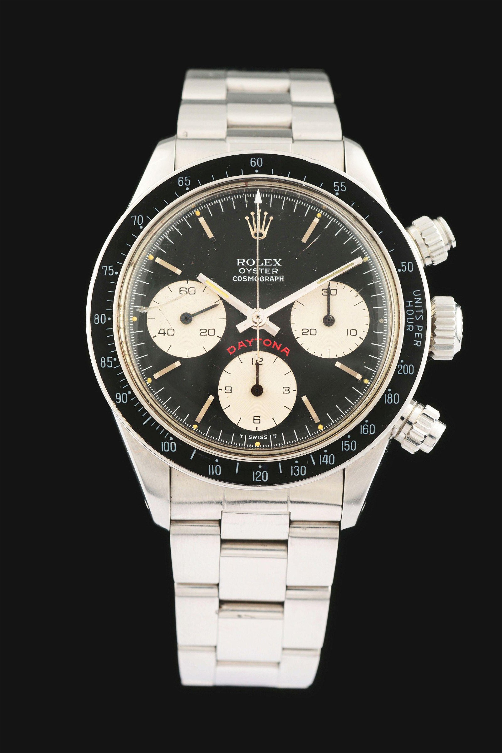 """MENS STAINLESS ROLEX OYSTER COSMOGRAPH FLOATING """"BIG"""